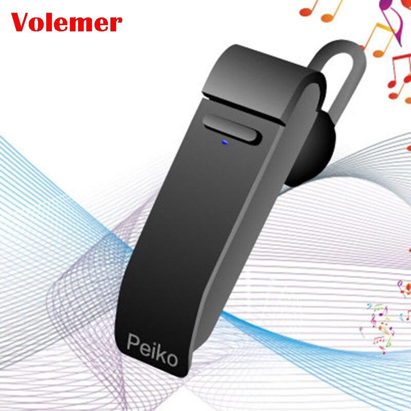 Volemer Voice Translator Peiko 16 Languages Intelligent Wireless Bluetooth Translate Earphone Business Mobile Phone Headset