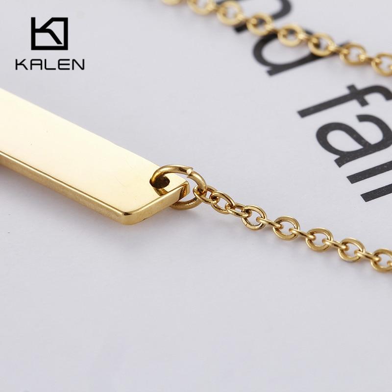 Kalen China Gold Farbe Großbuchstaben D Halskette Für Männer Billig ...