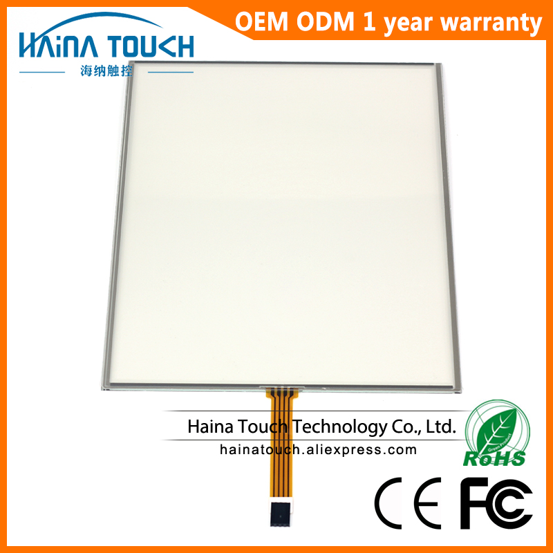 Win10 Compatible 4 3 17 Inch 4 Wire Resistive USB Touch Screen Panel For photo kiosk