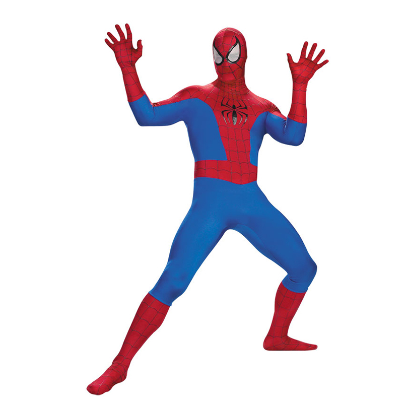 Adult Spider Man Peter Parker Cosplay Costume Spiderman Homecoming Suit Zentai Spiderman Superhero Bodysuit Suit Jumpsuits