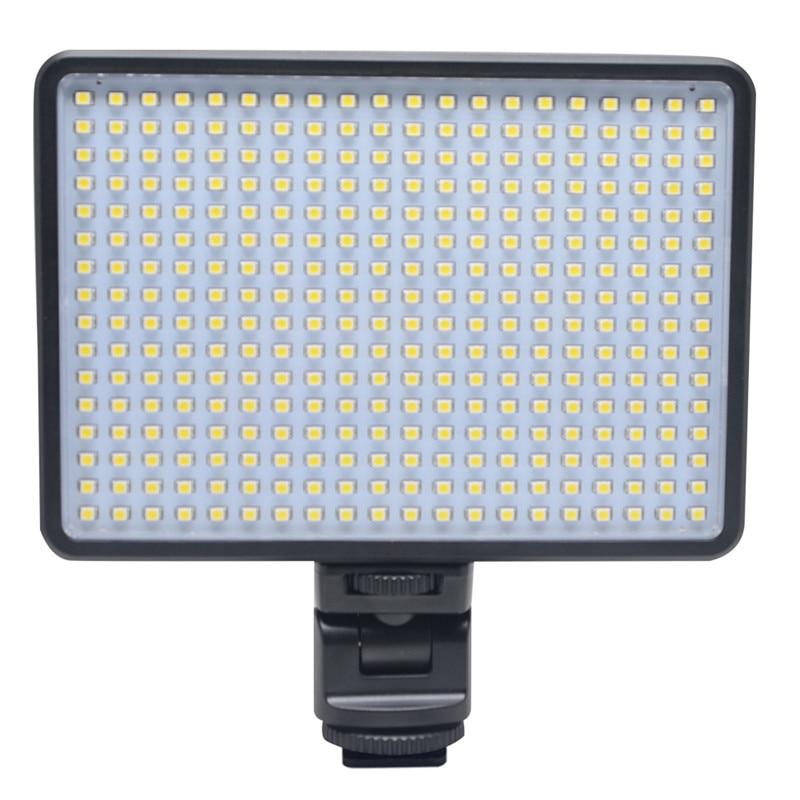 ФОТО Mcoplus LED-320 LED Video Light 28W  Professional Photography lighting for Canon Nikon DSLR Camera &  charge mobile phone ipad