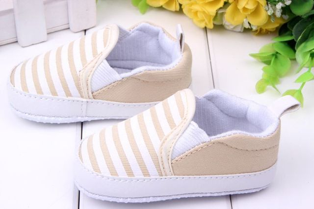 2017 New design baby Boy first walkers shoes Soft Sole Skid Proof Baby Shoes 0-12 Months 4