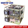 Laser Welding Machine Dedicated Power Supply Touch Screen Control Input 3Phase 380V Two Laser Box 2Bulbs Two YAG Lamp 300W