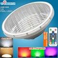 RGB LED светильник для бассейна SMD5730  24 Вт  36 Вт  Piscina  12 В  Par56  светодиодная лампа для пруда  IP68 Водонепроницаемая светодиодная подводная лампа