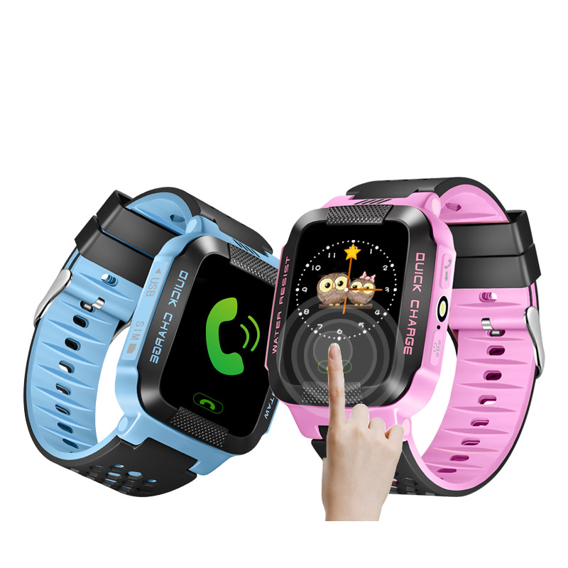 SOGRACE Smart Watches For Children 2PCS Gps Smart-Watch Smartwatch 2018 Kid Best Gift Child Gps Watch Phone Y123