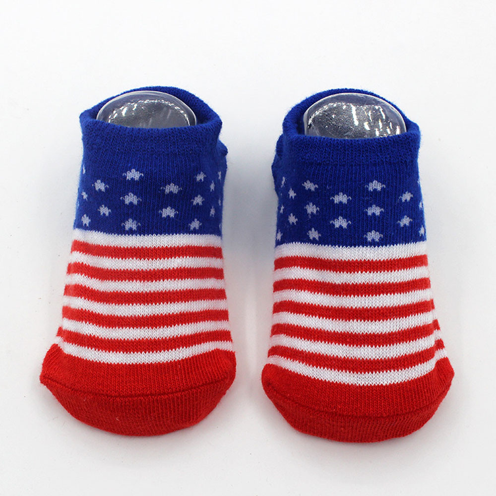 MUQGEW Lovely Baby Boy Girl Cotton blend Print Elastic Socks Antiskid Toddler Socks Kinderen Winter Warm calcetines E06