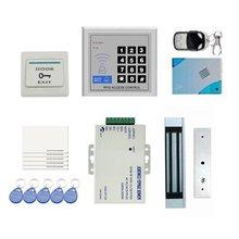 YobangSecurity RFID Door Access Control Kit for Single Door Electric Strike Magnetic Lock Card PIN Remote