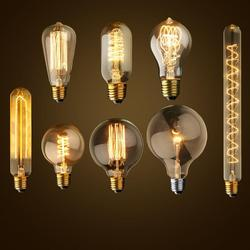 Antique retro vintage 40w 220v edison bulb e27 incandescent bulbs squirrel cage filament light bulb edison.jpg 250x250
