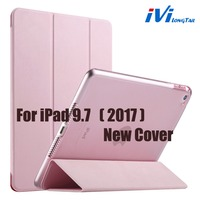 For Ipada 9 7 Cover 2017 Pad Case 9 7 Luxury Flip Protective Matte Pu Leather