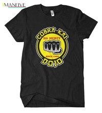 Cobra Kai Fist T-Shirt Karate Fun Kult MMA Miyagi K1 Boxen Kid Kung Fu Kick2019 Fashion slim T-shirts T Shirt Men's Tee Shirts mr big miyagi