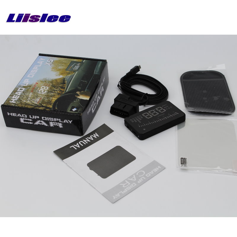 Liislee Car Computer Screen Display Projector Refkecting Windshield FOR Lexus LX 470 LX470 Safe Driving Screen in Head up Display from Automobiles Motorcycles