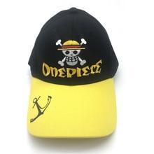 Anime una pieza Hip Hop sombreros Cosplay sombrero plano femenino hombres  gorra de béisbol Snapback Caps sunhat 8bcd6072d18