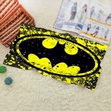 Batman Bain Towel Visage Cheveux De Bain À Séchage Rapide Adultes Débarbouillettes Super Absorbant Serviettes de Douche