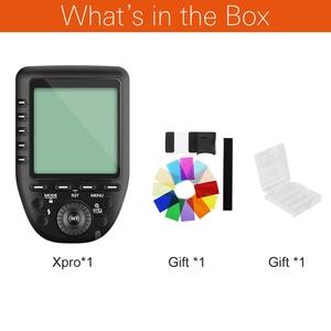 Image 2 - Godox Xpro C Xpro N Xpro S Xpro F Xpro O Xpro P 2.4 גרם HSS TTL אלחוטי פלאש טריגר עבור Canon Nikon Sony Fuji אולימפוס Pentax