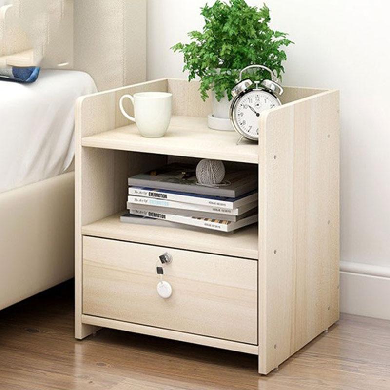 Einfache Moderne Nachttisch Schlafzimmer Schrank Holz Umkleide ...