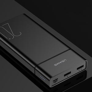 Image 4 - USAMS 20000 mAh FAST CHARGE Power Bank สำหรับ Xiao Mi Mi 20000 mAh Poverbank สำหรับ iPhone Charger ภายนอกแบตเตอรี่ Charger powerbank