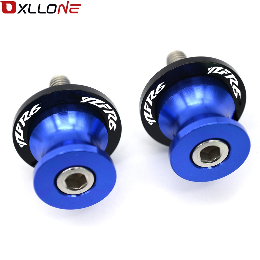 Image 4 - For Yamaha YZFR1 YZFR3 YZFR6 MT 03 MT 07 MT 09 R3 R6 6mm Motorcycle CNC Swingarm Sliders Spools Paddock Stand Bobbins Swing Arm-in Covers & Ornamental Mouldings from Automobiles & Motorcycles