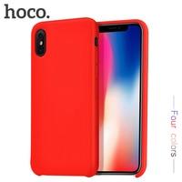 HOCO Caso de Telefone Para o iphone X 10 Casos Ultra Slim Caso de Telefone de Proteção Para O iPhone Da Apple XR XS MAX capa Protetora de volta