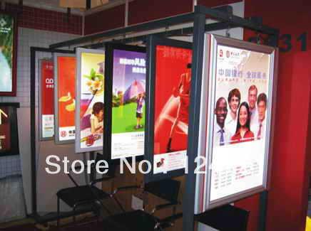 wall mounted magro led pressao quadro lightbox photo frame tamanho a1 alto brilho
