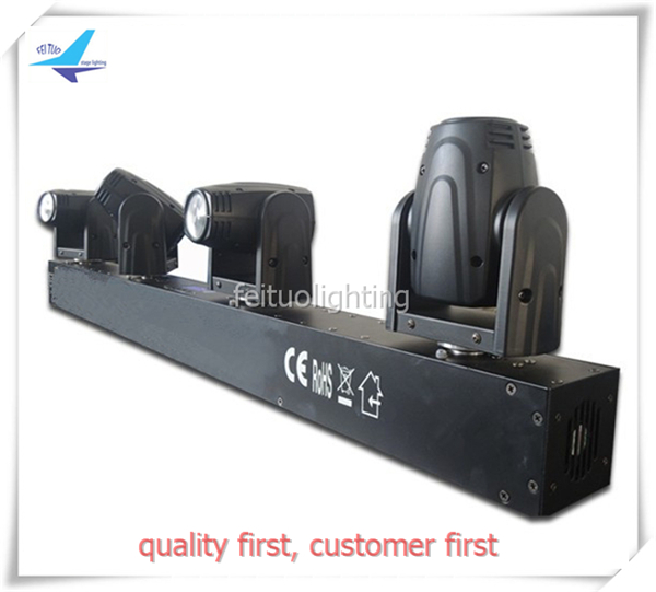 free shipping SUPER BEAM New 4 Heads 4x10w Moving Head Light RGBW 4in1 Linear Landscape Bar DJ Lighting Sound Active Show Lamp super junior world tour in seoul super show 6 special photobook release date 2016 01 08 kpop