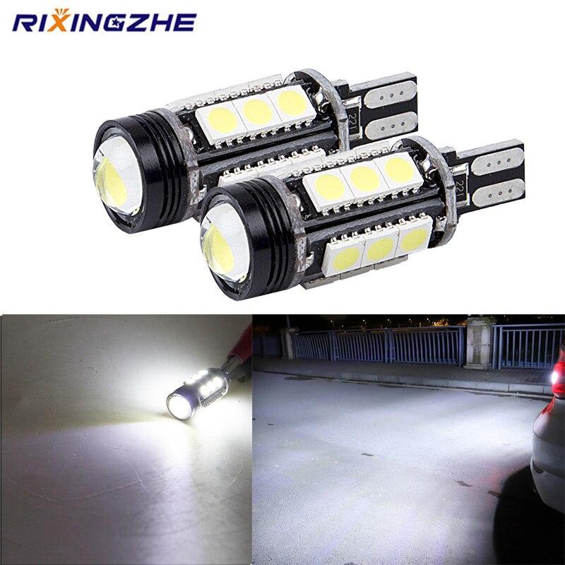 RXZ 1 шт. W16W T15 920 921 912 светодиодный Canbus обратный светильник 5050 1,5 Вт чипы высокий светильник светодиодный резервный парковочный светильник лам...