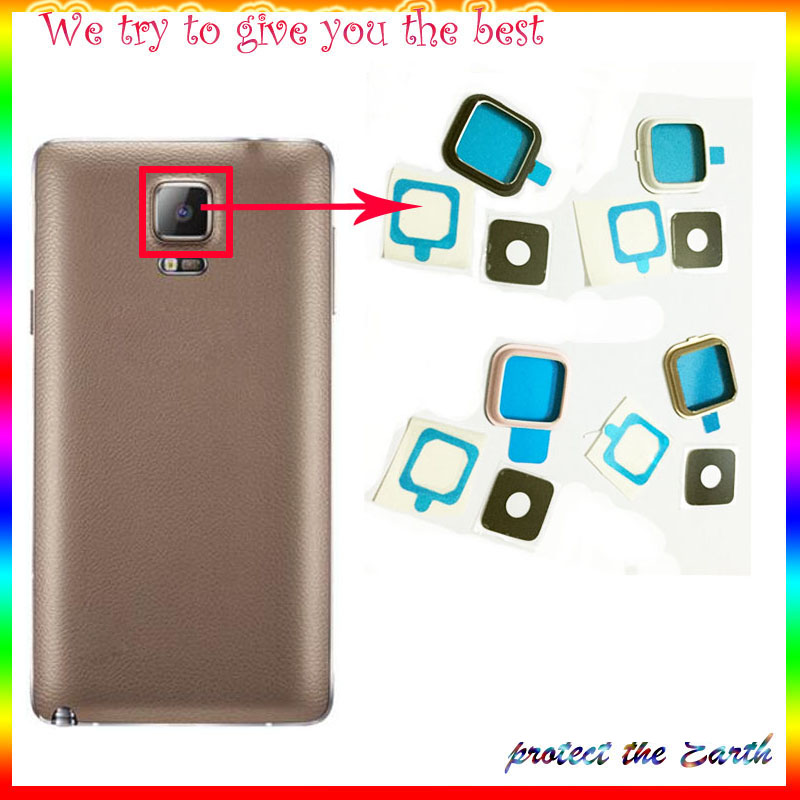 Original Rear Camera Glass For Samsung Galaxy Note 4 Note4 N9100 N910F N910C N910V Back Camera Lens Cover