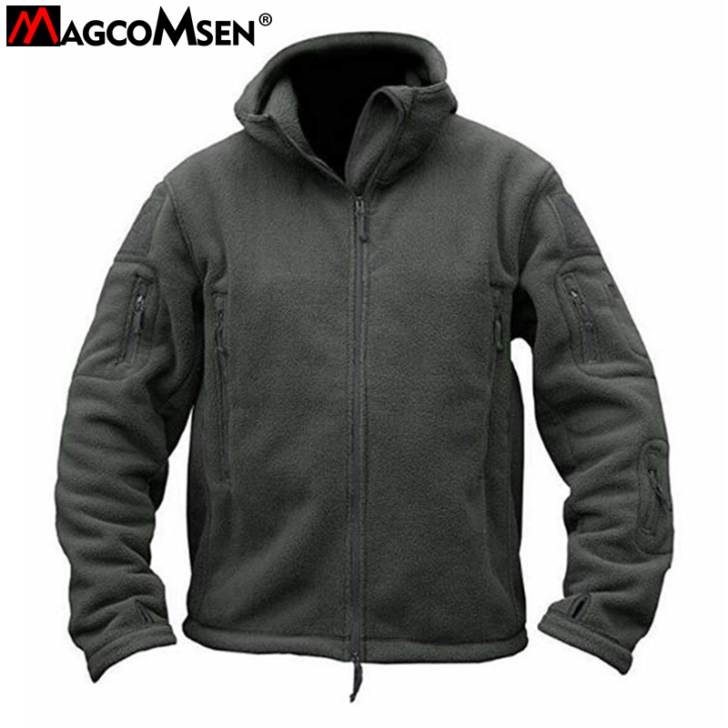Autumn Military Tactical Outdoor Soft Shell Fleece Jacket Men Army Polartec Sportswear Thermal Hunt Hiking Sport Hoodie Jackets partes del cable coaxial