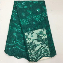 African Embroidered High Quality Lace Fabric
