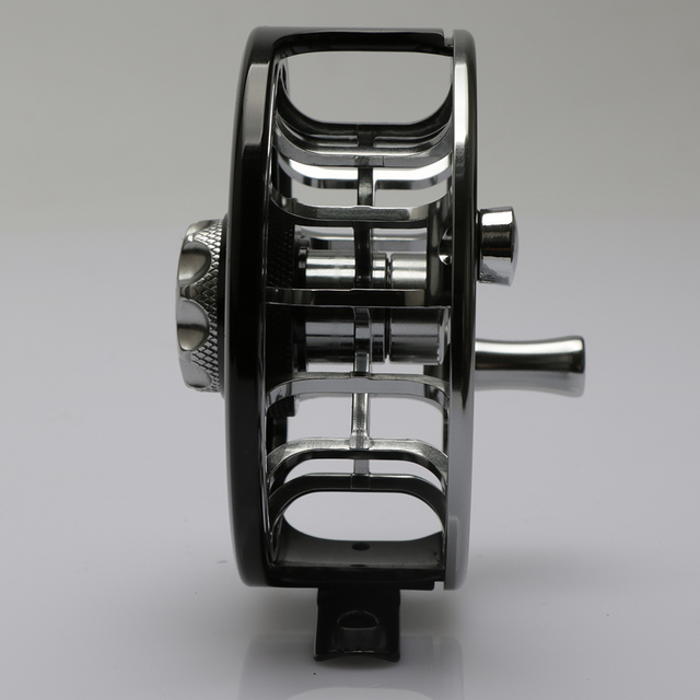 Goture Aluminum Alloy Fly Fishing Reel ELITE 5/6 All Metal CNC Super Light Saltwater Left Right Hand Coil Pesca Carretilha 2+1BB