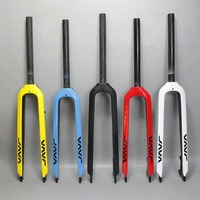Free Fast Shipping Tapered 3k Black Full Carbon Fork Mtb Carbon Fork 1 1 8