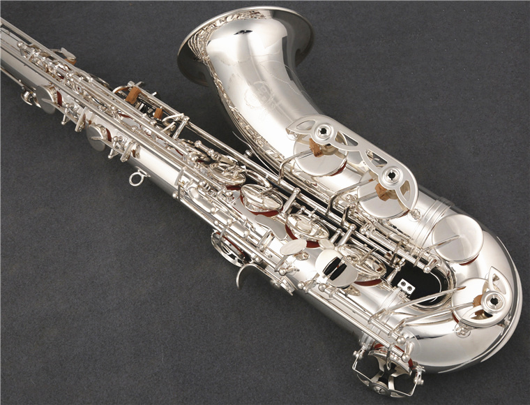 Professional Janpan KUNO KTS-902 Tenor Brand Saxophone Bb Tune Exquisite Silver Plated Woodwinds Instrument With Mouthpiece Case