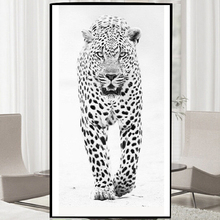 5D DIY Diamond Painting cross stitch Snow Leopard Pictures Fully Resin round rhinestone mosaic kit embroidery animals