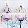 Anime Love live! Nozomi Tojo Cosplay Despertar Verano del traje de baño del traje de Baño Bikini Traje de Lycra S-XL conjunto Completo