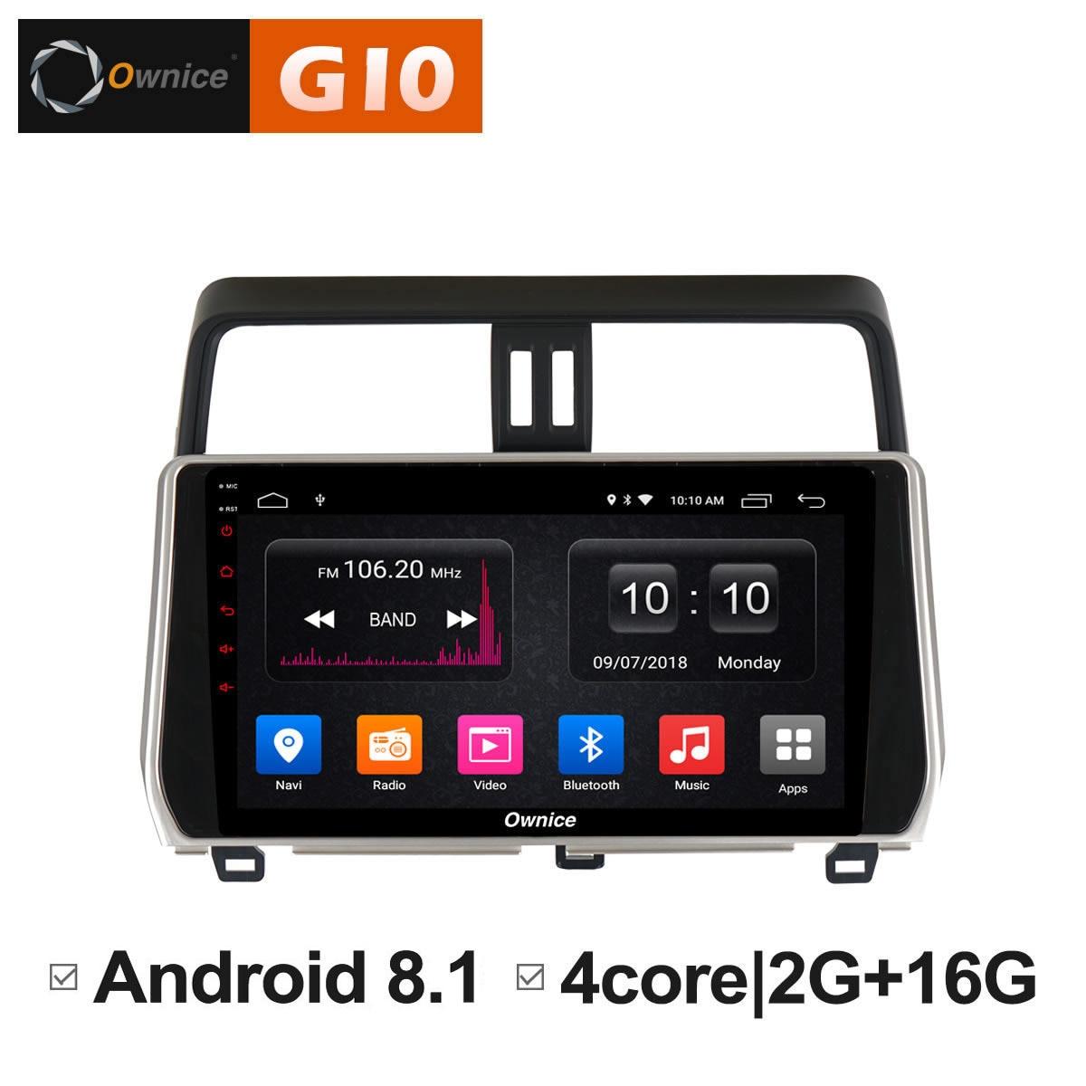все цены на Android 8.1 Unit Intelligent System Car DVD Radio Video Multimedia Player For Toyota Land Cruiser prado 2018 Stereo GPS Navi DVR онлайн