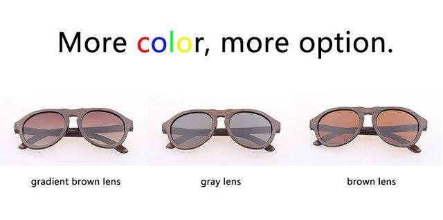 Designer Zonnebril Mannen 2016 Bamboe Houten Sunglass Mannen brillen Mens gafas polarizadas Carter Zonnebril Merk Brillen GB052