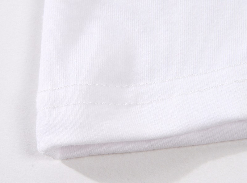 100% puro algodão camiseta crianças topo verão mj
