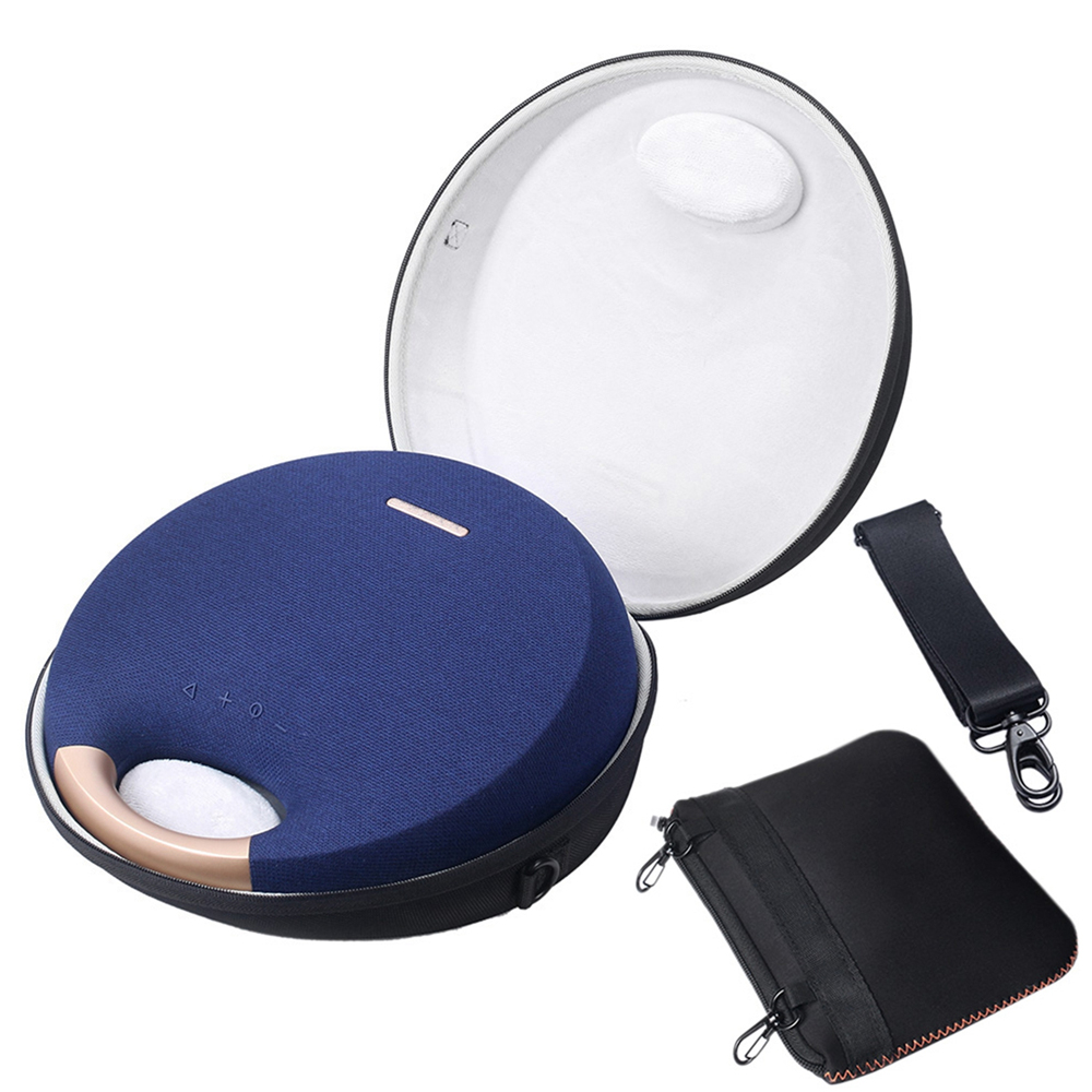 US $19 47 30% OFF|EVA Hard Case For Harman Kardon Onyx Studio 5 Bluetooth  Wireless Speaker Shockproof Storage Case with Small Bag for Accessories-in