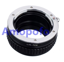 Amopofo LR-FX/M Adapter For Leica R Mount Lens to Fujifilm FX X-Pro1 X-E2 Adapter Macro Focusing Helicoid