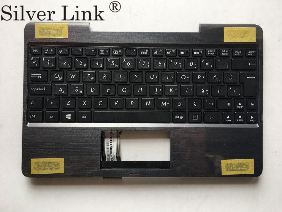 TR Turkish Keyboard for ASUS T100 T100A T100C T100T T100TA T100TAF T100TAL T100TAM T100TAR TR with Palmrest Upper cover Price $32.11