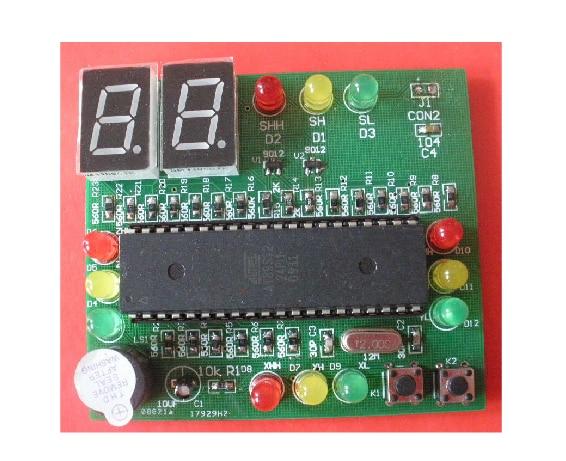 Free Shipping!!! 1pcs 51 single traffic light control kit (parts) module