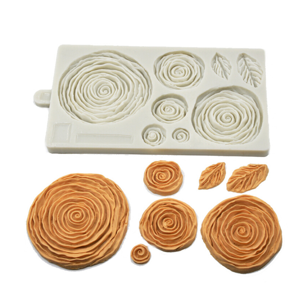 Silicone Swiss Roll Mould Chocolate Biscuit Paste Baking Mould Cookie Mold