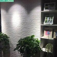 3D marble brick wallpaper self-adhesive living room bedroom kids office waterproof anti-collision soft bag