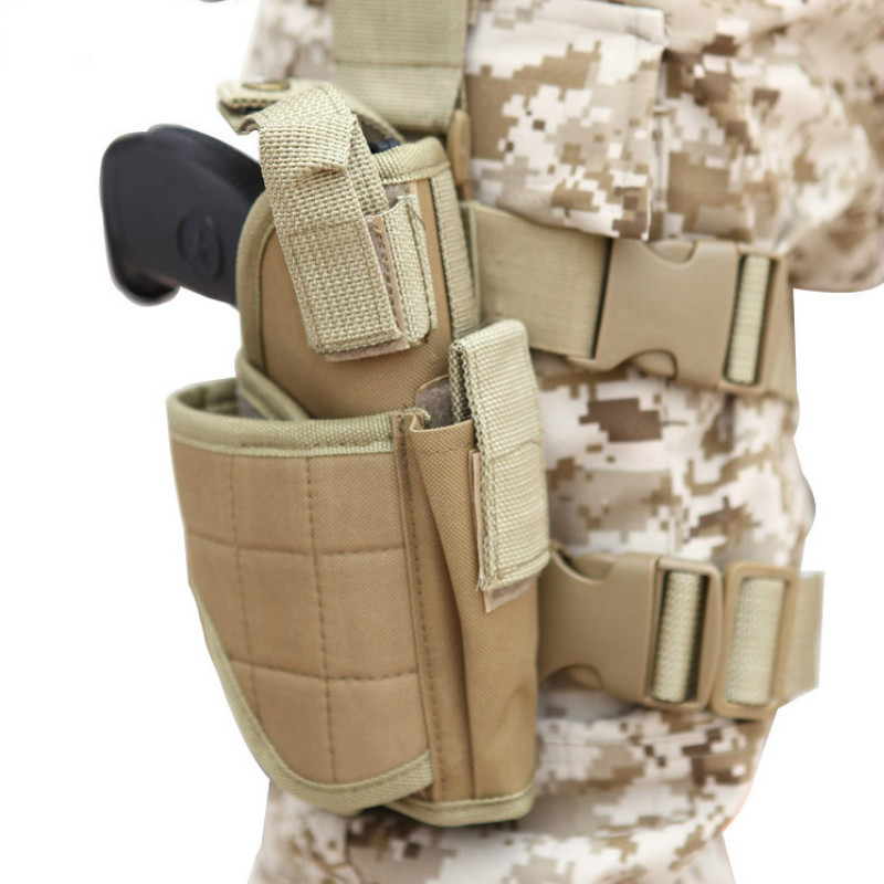 Tactical Tornado Leg Holster Glock Pistol Gun Drop Pouch Adjustable Magic Strap Holster For Universal Gun Toys For Children