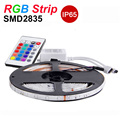 RGB LED Strip Light SMD2835 Waterproof IP65 5m 60LEDs/m Christmas Flexible Light LED Tape Lamp DC12V 24key IR Remote Controller
