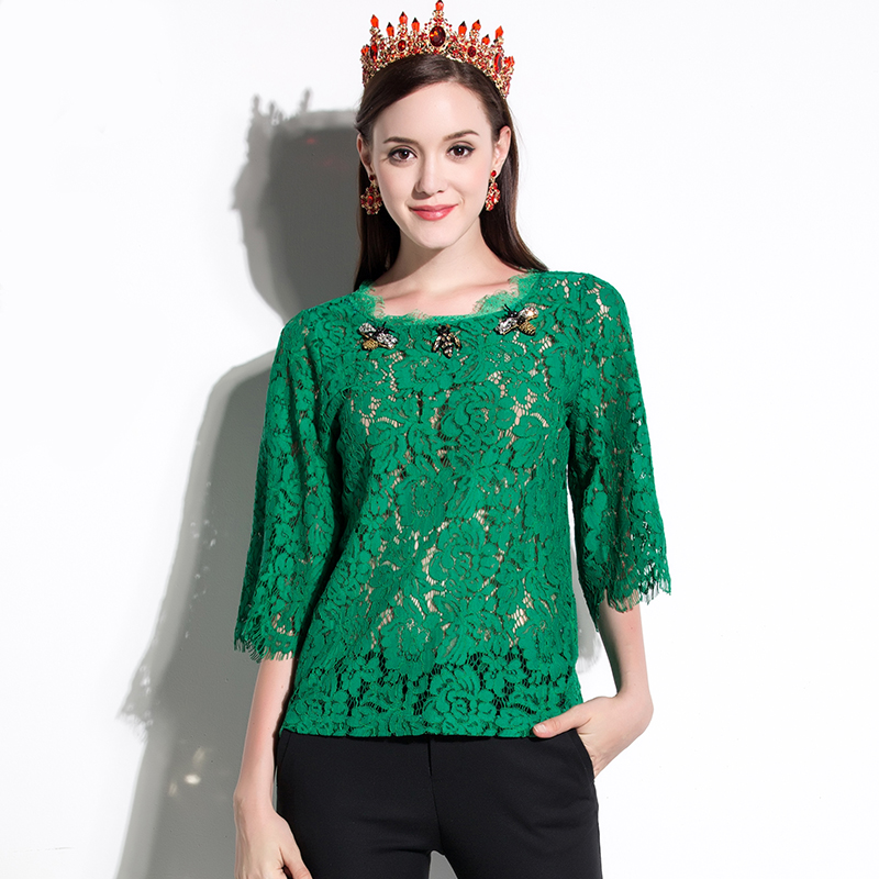 Green Blouses For Women - Breeze Clothing