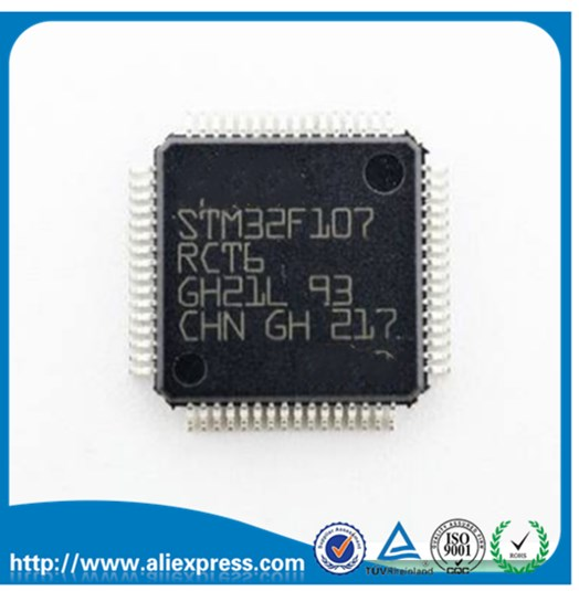 Can be straight shot STM32F107RCT6 STM32F107 LQFP64