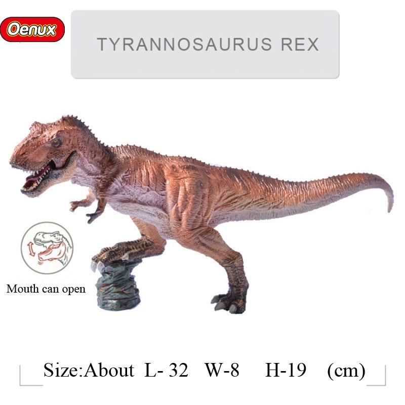 Prehistoric Carnivorous Jurassic Indominus Rex D-REX Dinosaurs King Tyrannosaurus Rex T-Rex Dinossauro Action Figures Toy wiben jurassic tyrannosaurus rex t rex dinosaur plastic toy animal model action