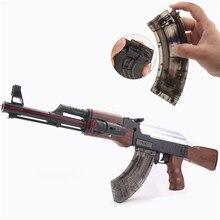 Live CS Rifle AK 47 Elektrisk og manuel Legetøjsvåben Pistol Gun Water Bullet Soft Bullet Orbeez Water Gun Luftpistol Legetøj til Kids