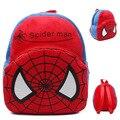 1-3 Años de Edad Del Bebé encantador Felpa Mochilas Bolsas Mochilas Niños Spiderman Spider Man Diseño de Mochila Niños de Dibujos Animados Niños de juguete de Regalo
