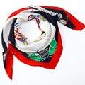 Шелк принт большие мочалку sang бо атлас жаккард шелк шарф шелк mulberry шарф женское шаль